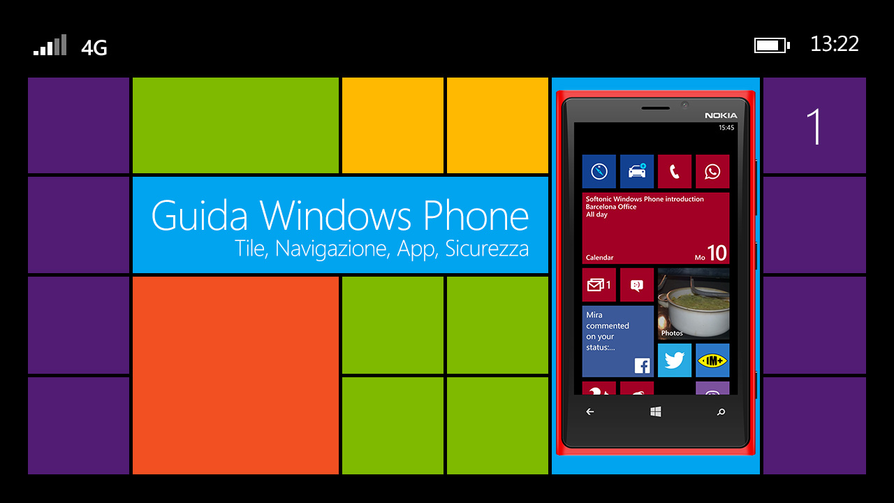 Windows Phone: ecco come funziona l'interfaccia dello smartphone di Microsoft