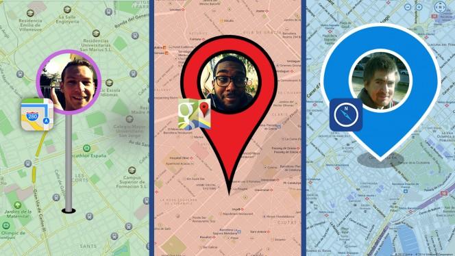 Meglio Google Maps, Nokia HERE o Mappe di Apple? Softonic le prova per te a Barcellona!