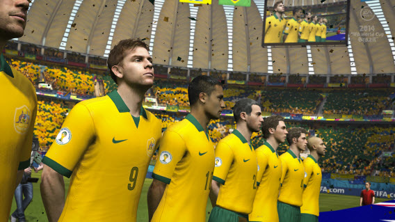 Brazil is the star of this version of FIFA