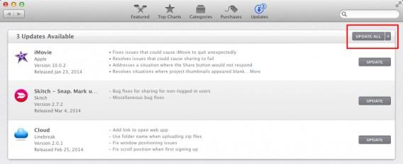 Aggiorna il software del Mac