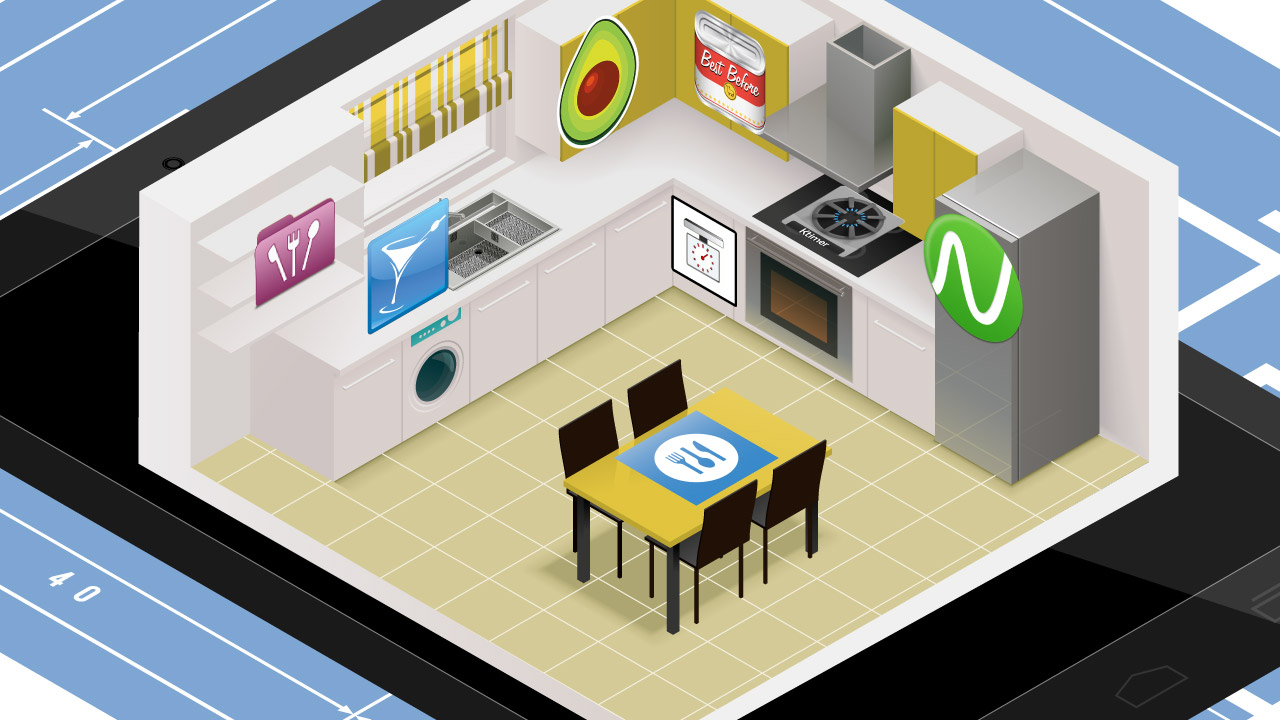 Cosa posso fare con il tablet: cucinare
