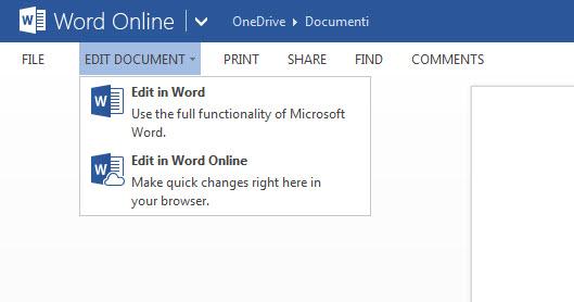 Office OnLine - édition de texte hors-ligne