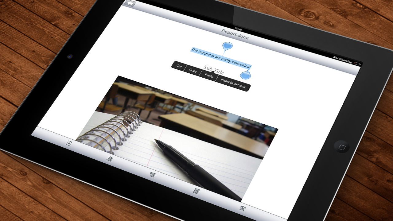 GRATIS OFFICE IPAD