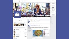 Facebook cambia l'interfaccia e il design delle Pagine. Ora più chiare