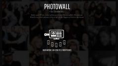 Photowall, ecco la nuova app di condivisione foto per Chromecast