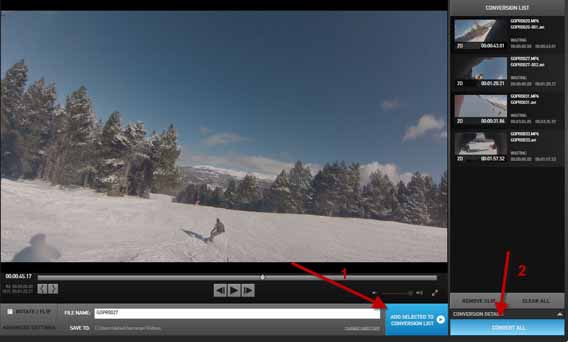 How to edit a video with gopro studio for Gopro studio templates download