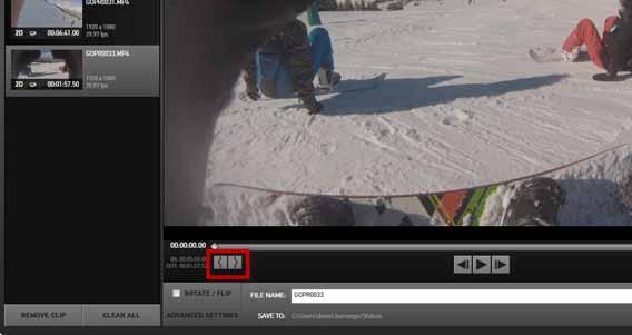 Antes de começar a montar o vídeo e aplicar efeitos, recorte os trechos importados