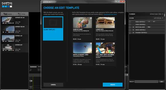 how to use gopro studio templates - how to edit a video with gopro studio