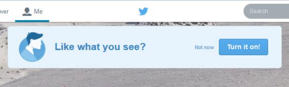 Twitter new profile