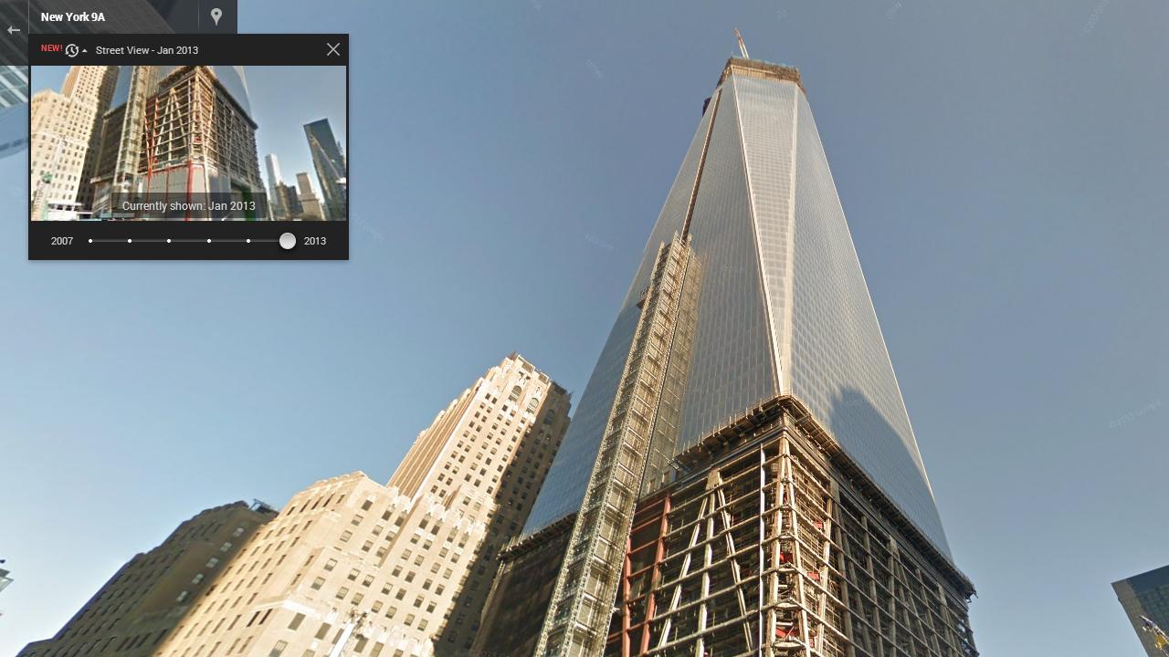 Con Google Street View ora puoi viaggiare nel tempo