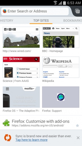 firefox 29 android