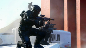 Call of Duty: Advanced Warfare, trailer video con Kevin Spacey