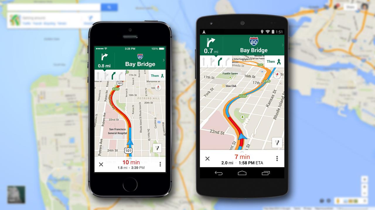 Google Maps per Android e iOS: ora con navigazione migliorata e mappe offline