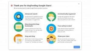 Il futuro dei bookmark si chiama Stars: Google rivoluziona i segnalibri