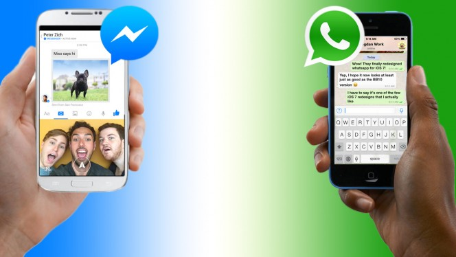 facebook messenger o whatsapp