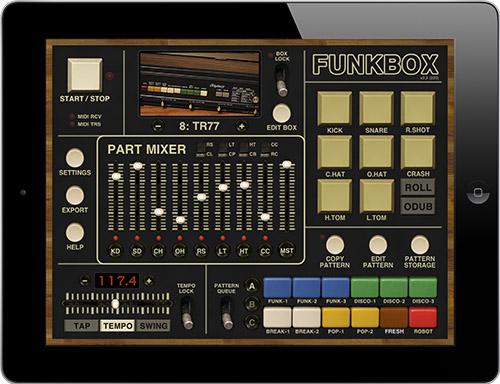 FunkBox iPad