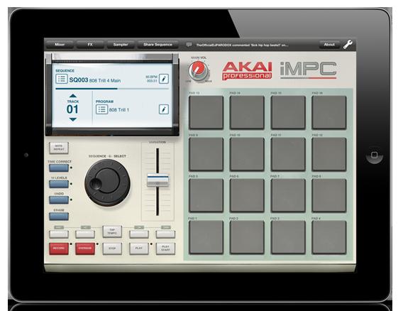 iMPC iPad