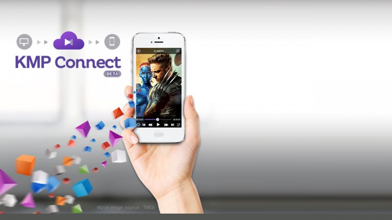 KMPlayer introduce Connect: streaming di file da computer a cellulare