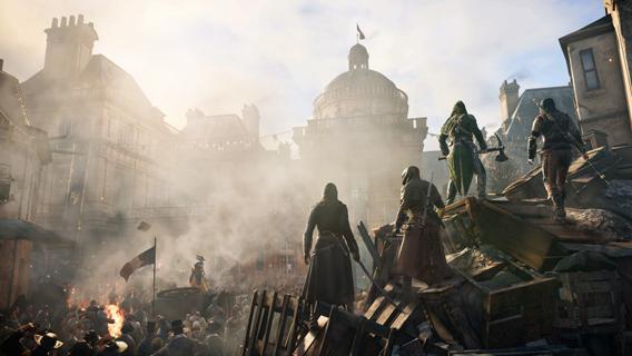 Le décor d'AC Unity: Paris sous la Révolution