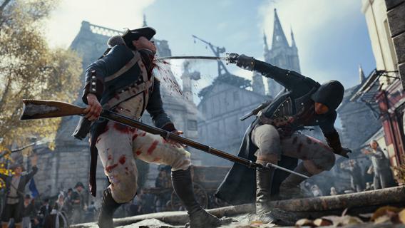 Combates em Assassin's Creed Unity serão mais lentos