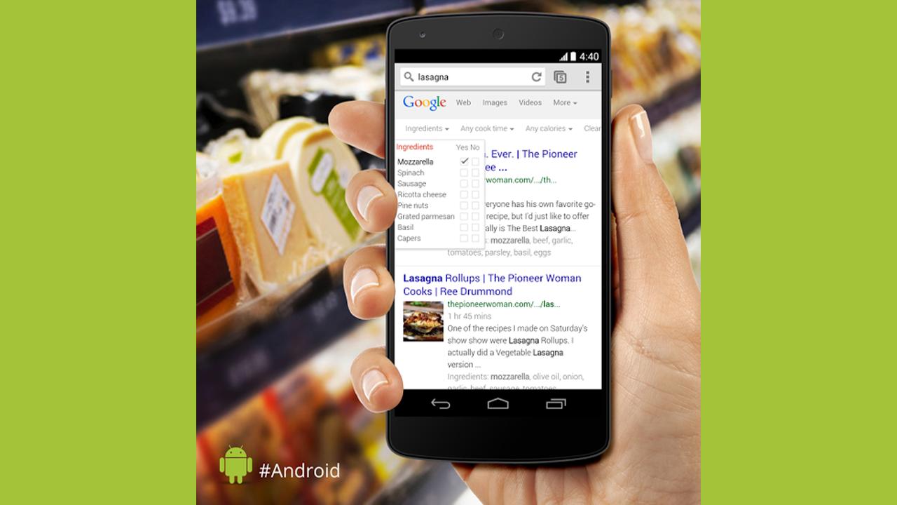 Google Nuovi Filtri Di Ricerca Per Ingre Nti E Ricette