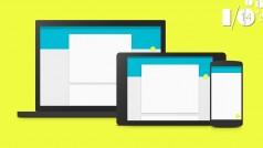 Google I/O 2014: presentato il Material Design, il nuovo look di Android e Chrome OS