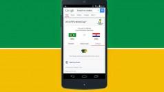 Google Now aggiunge schede sulle partite e le squadre dei Mondiali