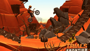 Trials Frontier: il crudele destino dei casual game