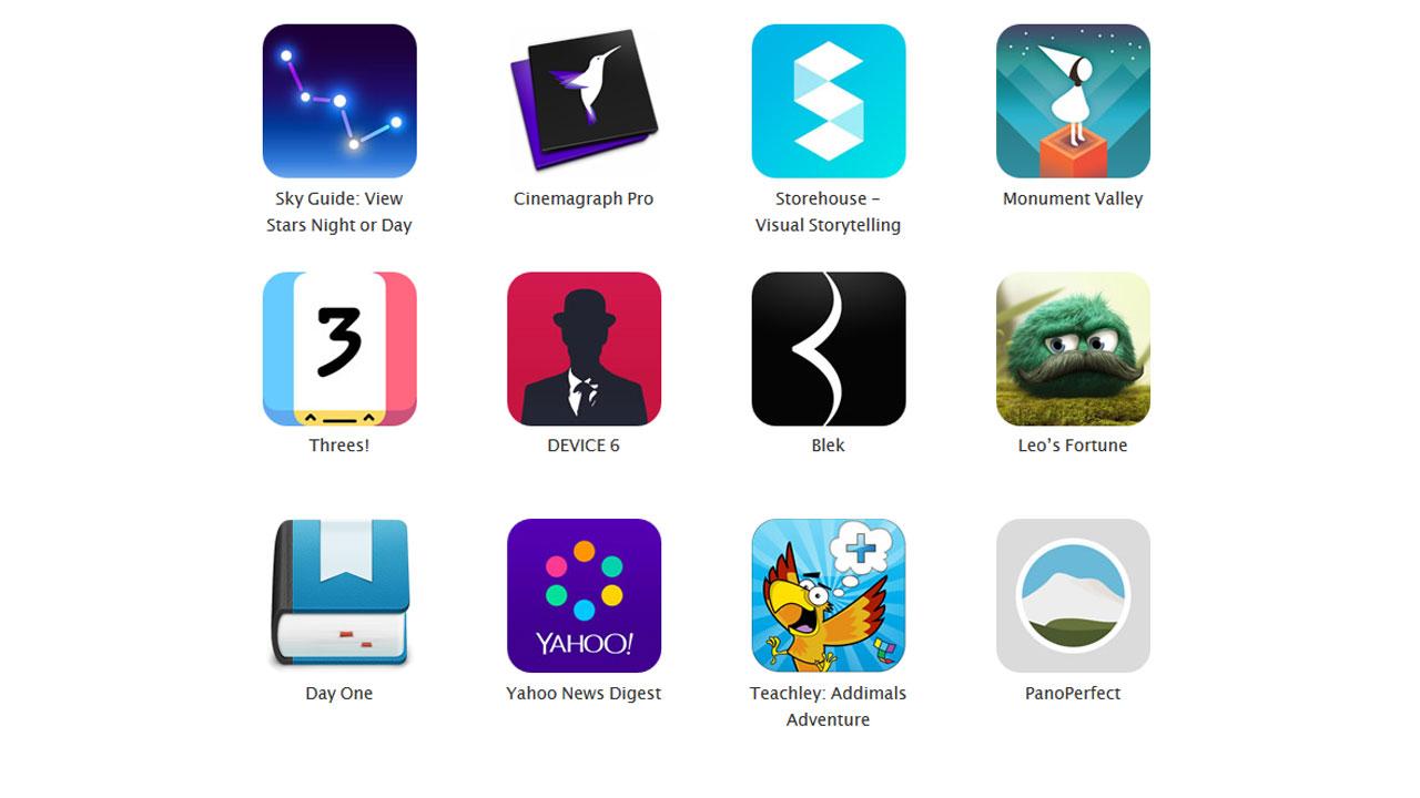 Apple design awards le migliori app ios yahoo vince per for App per design