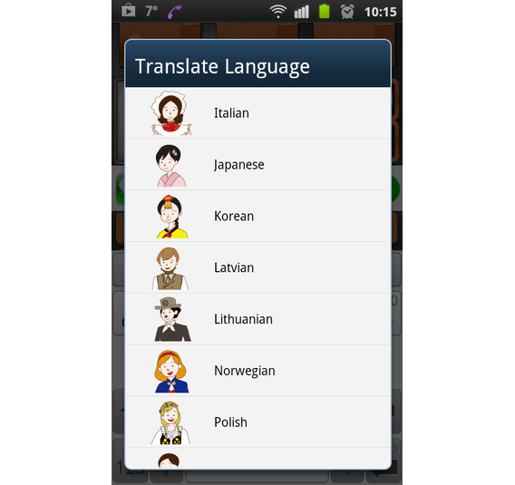talk-translate screenshot