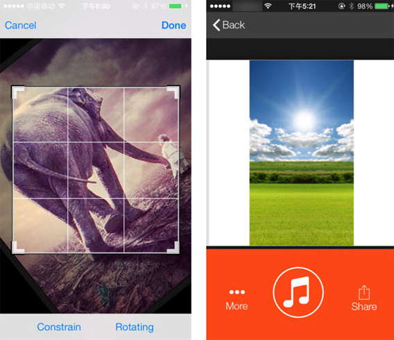 InstaVideo slideshow for Instagram screenshot combo