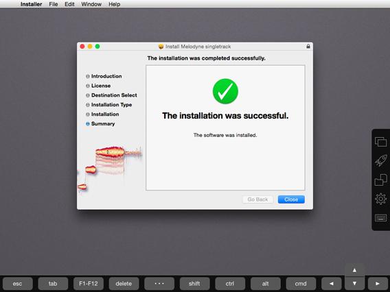 Installer l'appli sur Mac