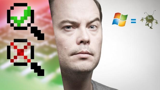 I virus ci sono solo su Windows. Vero o falso?