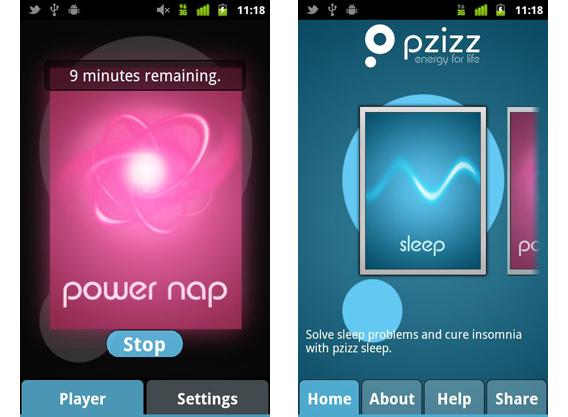 pzizz sleep: de la musique pour s'endormir ou dormir toute la nuit