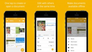Google Docs per iPhone e iPad: ora con supporto nativo ai file Office