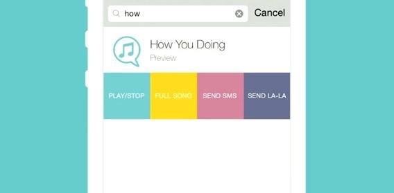 Envie músicas para seus amigos