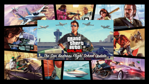 GTA Online: arriva l'aggiornamento San Andreas Flight School