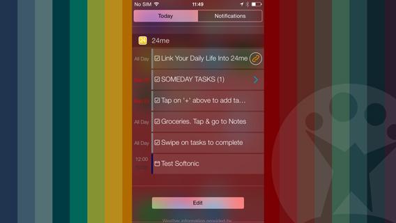 24me widget