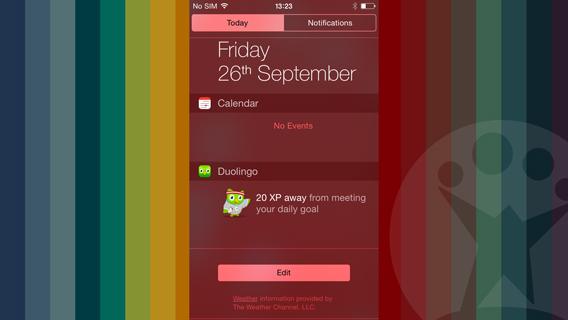 Duolingo widget
