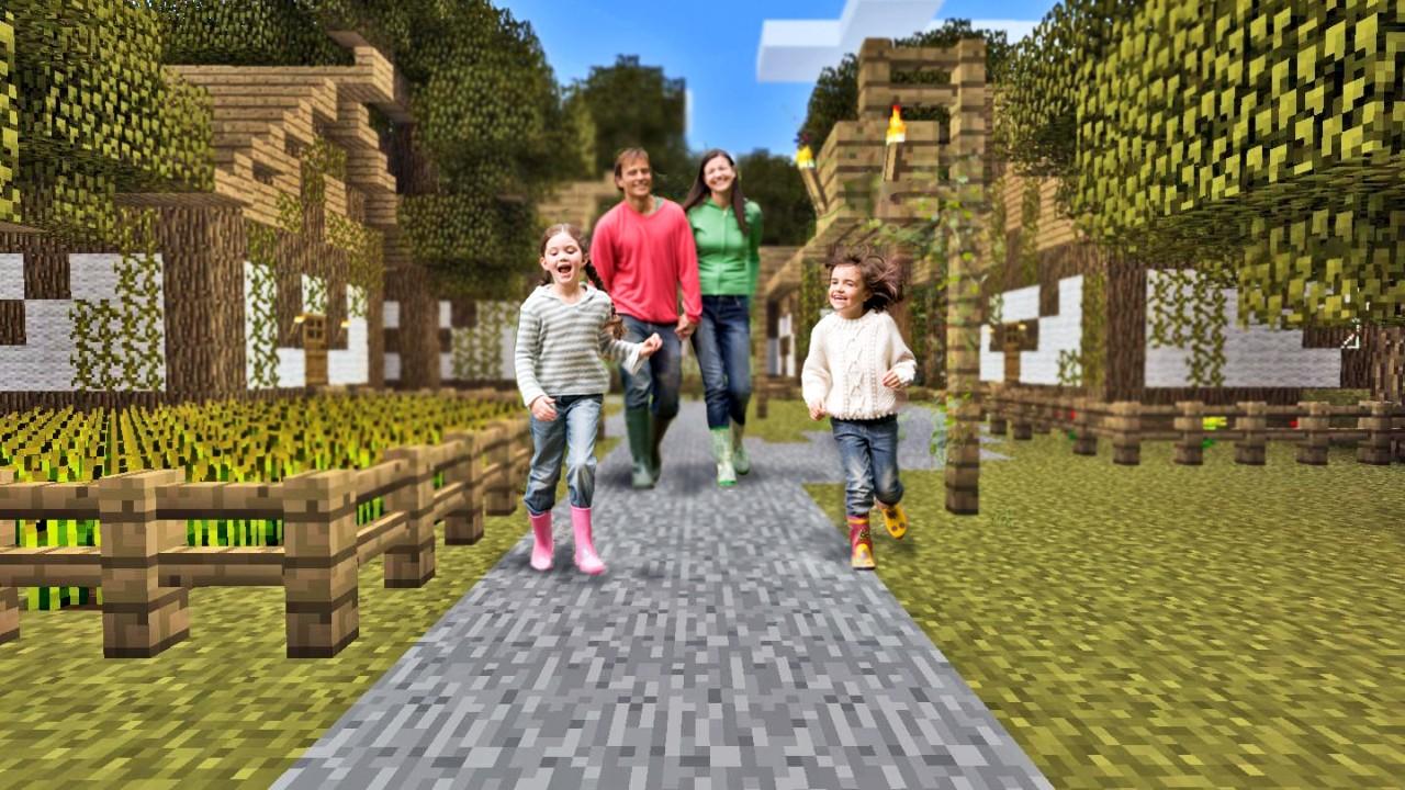 Case Di Montagna Minecraft : Essere genitori ai tempi di minecraft consigli per divertirti