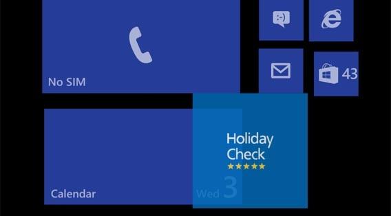 windows phone so ndern sie den startbildschirm. Black Bedroom Furniture Sets. Home Design Ideas