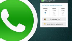 Pagare WhatsApp con credito telefonico, senza usare la carta di credito. Ecco tutta la verità