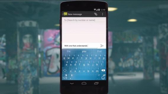 Android possui dezenas de teclados virtuais diferentes
