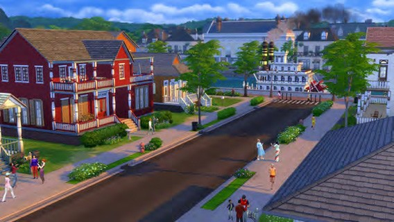 The Sims 4 Quartiere