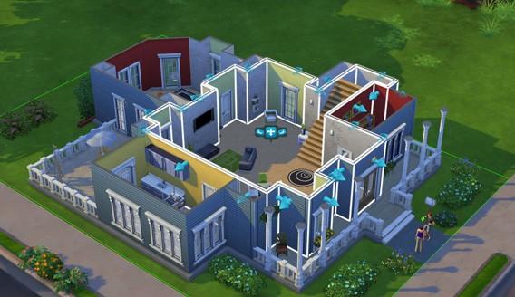 The Sims 4 Costruire