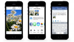 Facebook per iOS 8:  in arrivo più strumenti di condivisione