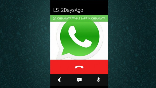 whatsapp calls header