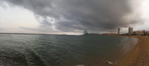 Barceloneta panorama corretto