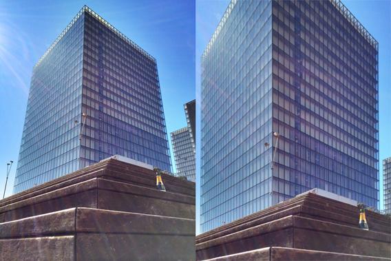 La foto prima e dopo