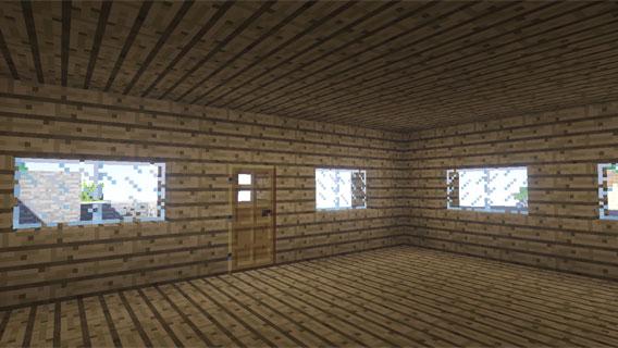 Minecraft: créer une porte et des fenêtres